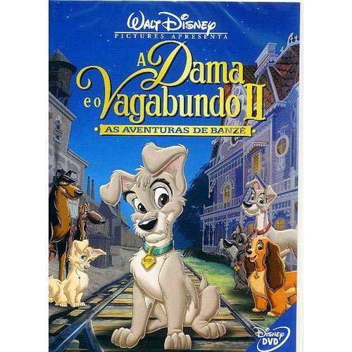 DVD A Dama e O Vagabundo II - As Aventuras de Banze [ Lady And The Tramp II: Scamps Adventure ] [ Audio and Subtitles in English + Portuguese + Spanish ]