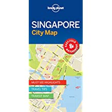 Lonely Planet Singapore City Map Maps