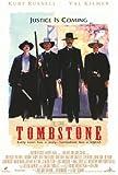 Tombstone Poster Movie 27x40 Kurt Russell Val Kilmer Michael Biehn