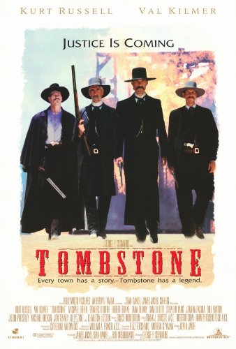MG Poster  Tombstone Justice is Coming Movie Poster