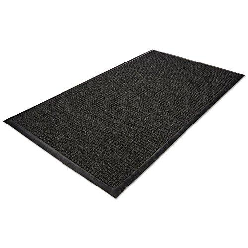 Guardian WG030504 WaterGuard Wiper Scraper Indoor Mat, 36 x 60, Charcoal