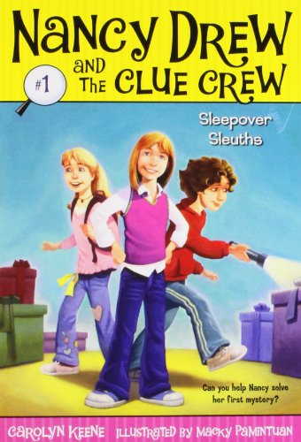 Sleepover Sleuths (Nancy Drew and the Clue Crew #1)