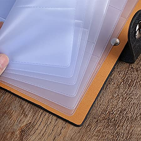 Business Card Organizer Ibayam 300 Slots Business Card Holder Cards