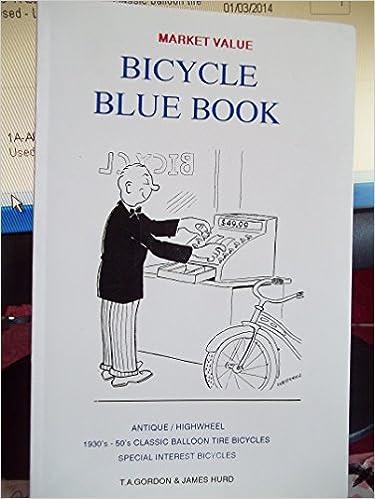 Bicycle Blue Book Market Value Antique Highwheel 1930 S 50 S