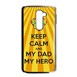2015 Bestselling best dad cake Phone Case for LG G2 BLACK