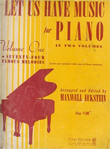 Let Us Have Music for Piano in Two VolumesVolume One