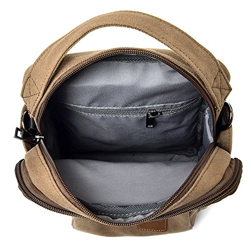 Bag Man Chest Shoulder Bag Coffee Business Casual IwBpxtXX