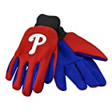 MLB Philadelphia Phillies 2015 Colored Palm Utility Gloves, Red
