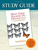 Study Guide-What Great Teachers Do Differently: 14 Things That Matter Most