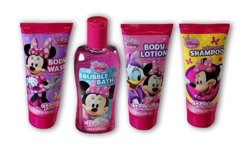 Amazon.com: Disney Minnie Mouse Cotton Candy Scented Girls Bath ...