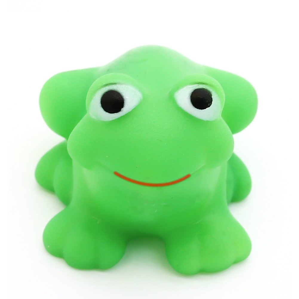 Amazon.com: LovesTown Bath Toy, 10 Pcs Rubber Frog Tub Toy for Baby ...