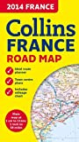 2014 Collins Map of France, Collins, 0007498225