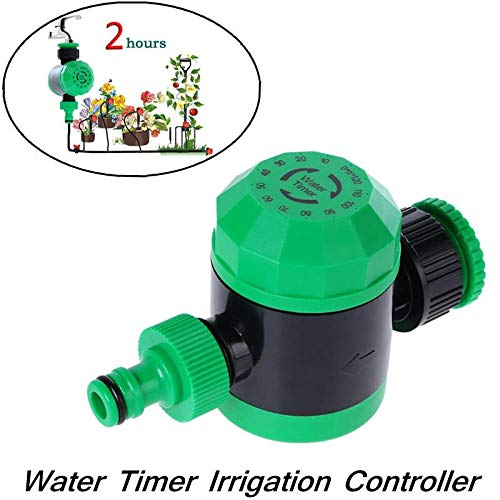 MOGOI Garden Hose Water Timer, Automatic Mechanical Water Timer Garden Hose Sprinkler Irrigation Controller