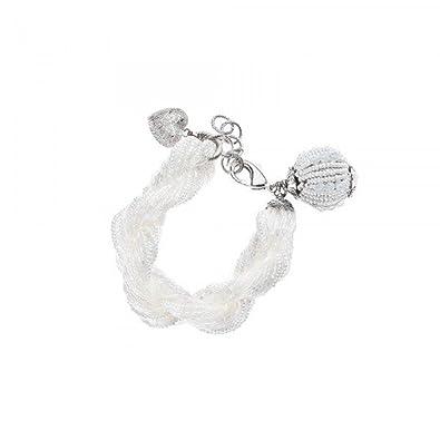 Et 84219s Cœur Femme Avec PerlesStrass Ottaviani Bracelet JcFlKT1
