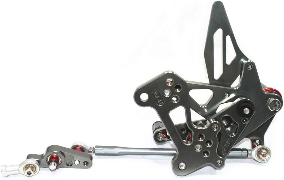 Titanium MV AGUSTA F3 675,800 2012-2017 CNC Motorbike Adjustable Foot Rests Rearsets