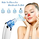 Blackhead Remover, Diivoo Pore Cleanser, Electric Blackhead Suction Remover/Comedone Extractor Vacuum Machine, Facial Pore Cleaner Rechargeable, Acne Blackhead Coarse Dirt Dead Blemishes Skin Care