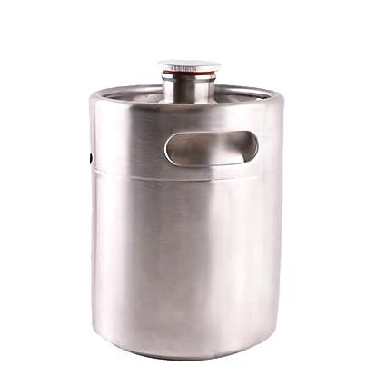 HAVEGET Barriles de cerveza de 2L, mini barril de acero ...