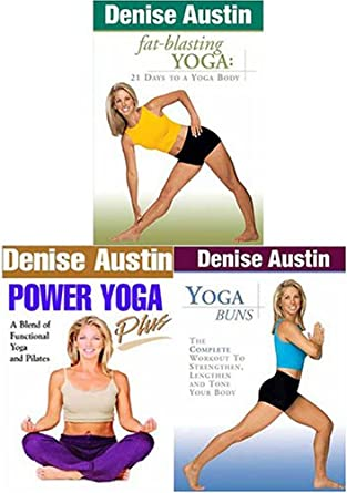Amazon.com: Denise Austin - Fat-Blasting Yoga / Power Yoga ...