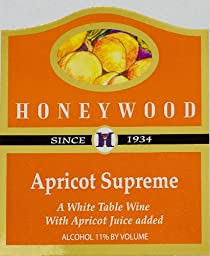 NV Honeywood Winery Apricot Supreme Fruit Wine 750 mL