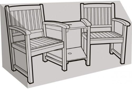 Love Seat Bench Cover Waterproof All-season Design Companion Garden Seat Cover