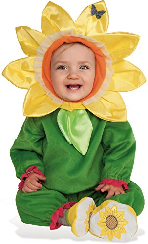 Rubie's Baby Sunflower Costume, As Shown, Infant