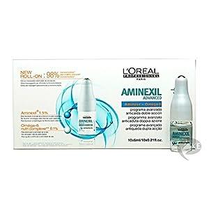 L'Oréal Professionnel Expert - Aminexil Advanced antichute - Tratamiento avanzado anticaída con doble acción - 10 doses de 6 ml