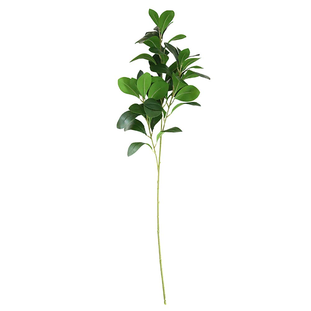 super1798 1Pc Artificial Tree Branch Leaves Garden DIY Stage Party Wedding Craft Decor