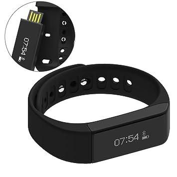 Amazon com : iWOWN i5 Plus Wireless Fitness Pedometer