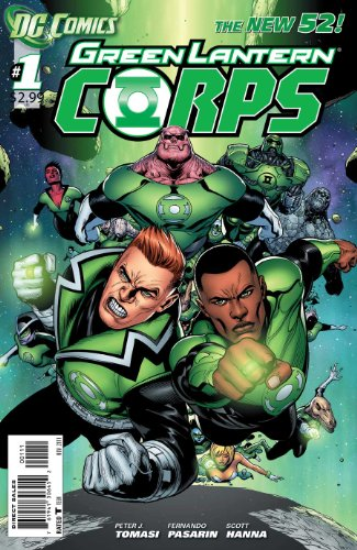 Green Lantern Corps Issue 1 Triumph of the Will