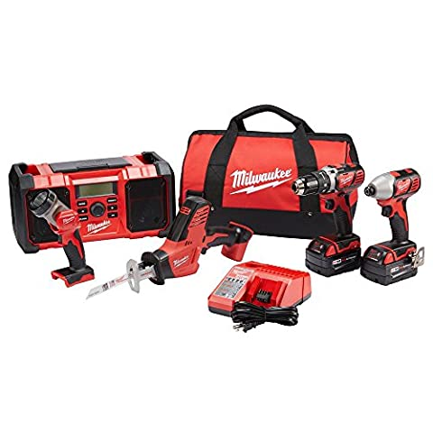 Milwaukee M18 5-Tool Combo Kit - Milwaukee Power Tools