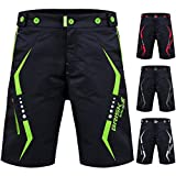Bike bicycle Mtb mountain bikes bike shots cycle gear bike accessories cycling clothing road bike cycling shorts cycle bike store bike gear cycling Super shorts (Black Green, Large)