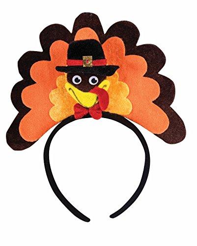 (Forum Men's Novelty Turkey Headband, Multi, One)