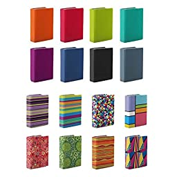 Stretchable Book Covers (Pack of 3) - Fits Books up to 8.5 x 11\