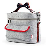 Best Picnic Plus Lunch Boxes - Containers Tote Bags - Mr.Dakai Portable Rectangle Insulated Review