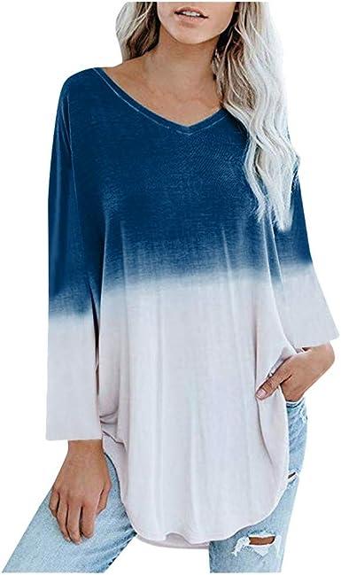 Camisa Mujer Vestido Camisa Talla Grande Blusa Mujer Blusa Amplias Tapas Top Blusa De Mujer Asimétrica Vestidos Fluidos Leopardo Tops Largos para Polainas Jersey Shirt Otoño Invierno Playa BuyO: Amazon.es: Ropa y
