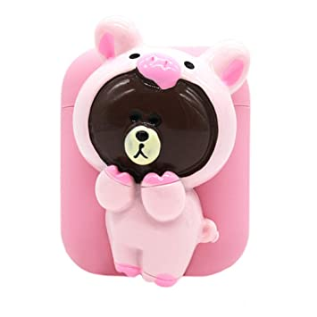 info for 6e1a7 92099 Airpods Case with Lanyard,MeiQing Cute Bear Pendant AirPod Charging  Protective Case Cover for...