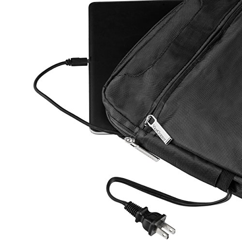 VanGoddy NineO Slim Slate Grey Messenger Bag for Microsoft Surface Laptop / Surface Book / Surface Pro Series 11''-13.5in by Vangoddy (Image #5)