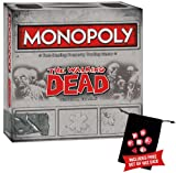 The Walking Dead Monopoly w/Free Set of Wiz Dice