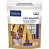Virbac C.E.T. Masticables de higiene oral enzimática, perro pequeño, 30 unidades