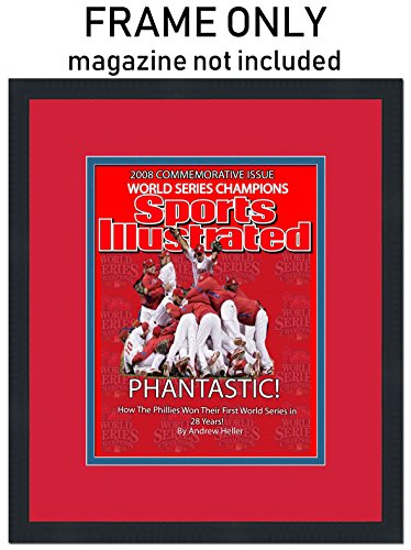 Sports Illustrated Magazine Frame - with Philadelphia Phillies Colors Double Mat ()