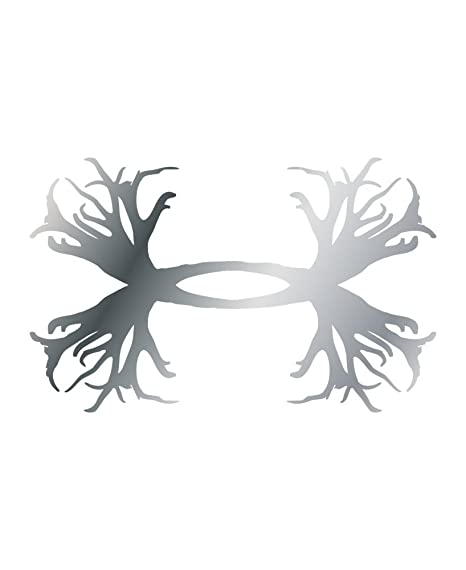 12f8a539534a Amazon.com : Under Armour UA Antler Logo Emblem Decals - 2 pack One ...