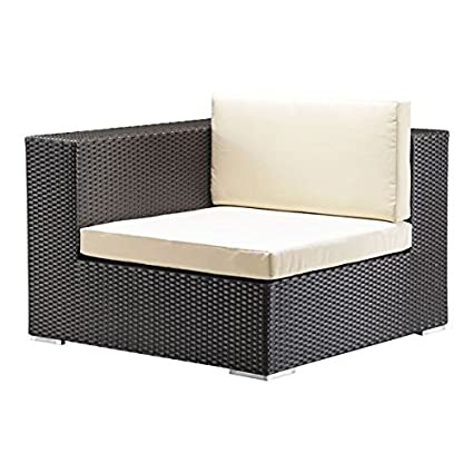 Amazon.com : Cartagena Espresso Sunproof Wicker and Fabric ...