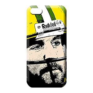 iphone 5 5s High-end cell phone carrying cases Eco-friendly Packaging Shock Absorbing green bay packers