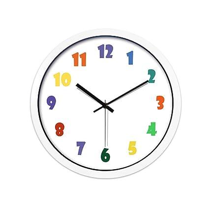 ZYH Reloj de Pared Digital, (30-35 CM) Cuadro de Metal Sala