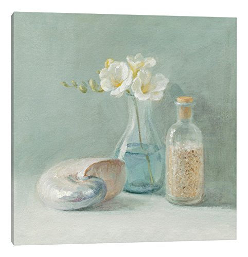 iCanvasART WAC190 Freesia Spa Canvas Print by Danhui Nai, 26 by 26-Inch, 0.75-Inch Deep