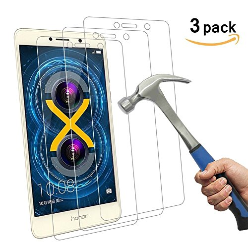 Aliga 9H Hardness 2.5D Honor 6X Tempered Glass Bubble-Free Glass Screen Protectors For Huawei Honor 6X - 3 Piece