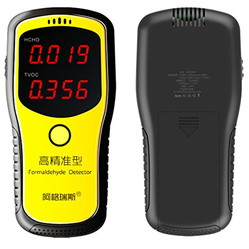 Professional Portable Formaldehyde Detector, Indoor Air Quality Tester with LCD Display for Home Use by OLSUS (Image #3)