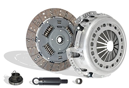 Clutch Kit Works With Dodge Ram 2500 3500 Base St Slt Laramie Standard Cab Pickup Crew 2001-January 24th/2005 5.9L 359Cu. In. l6 Diesel OHV Turbocharged (Cummins Turbo Diesel;6 Speed Trans Only)