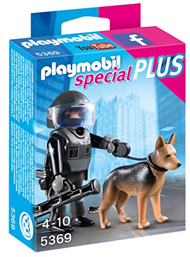 PLAYMOBIL Tactical Police Dog Unit