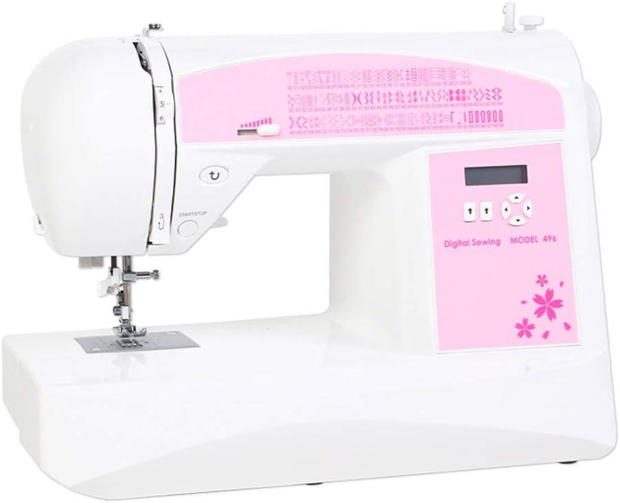 ZHongWei-- La máquina de Coser, la máquina electrónica automática de Costura, Hogar Multi-Funcional doméstica pequeña máquina de Coser con orillo (Size : 42x21x31cm)